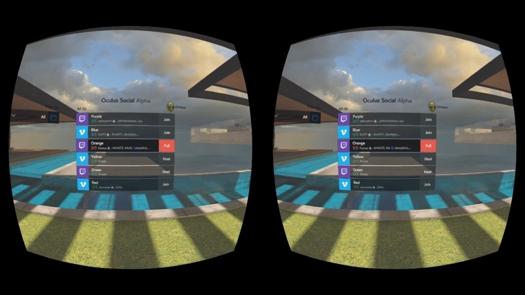 Social VR from Oculus