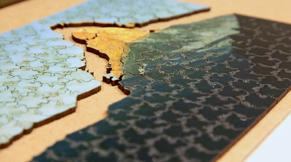 creating personalized jigsaw puzzles ivrl
