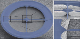Ultra low dissipation optomechanical resonators