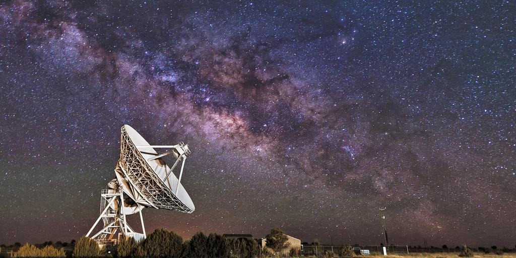 LASTRO radio telescope milky way