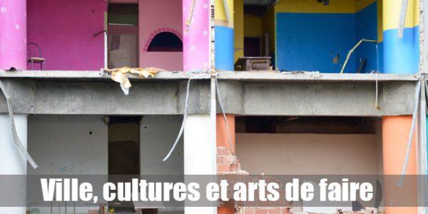 Ville, cultures et arts de faire