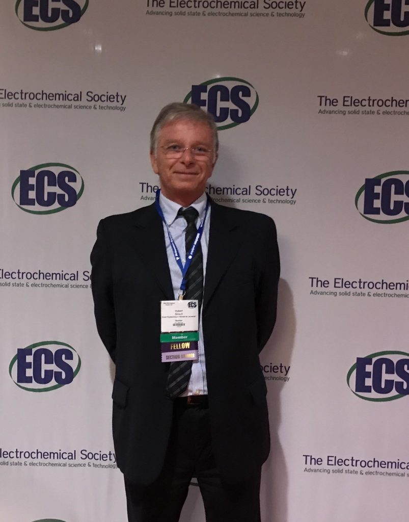 Great honor for Prof. Hubert Girault to be elected as the Electrochemical Society (ECS) fellow 2019. Congratulations!!