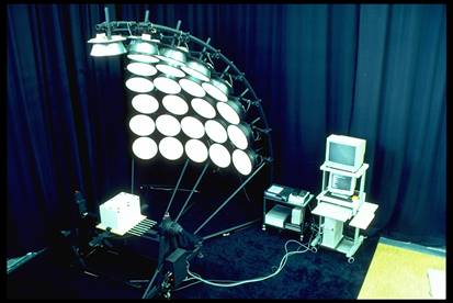 Photo scanning sky simulator