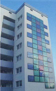 building integration case 5 renovated façade