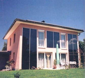 Façade integration Case 3 family home