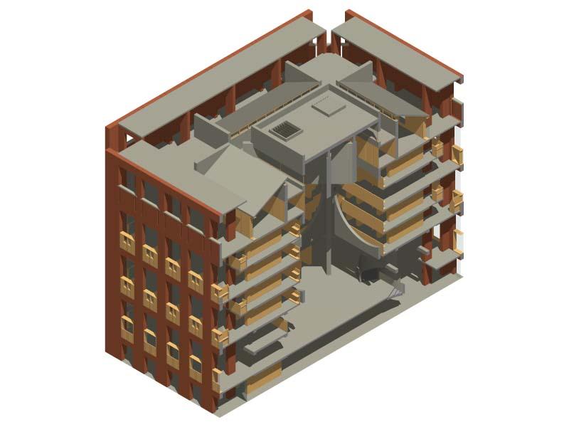 coupe bâtiment