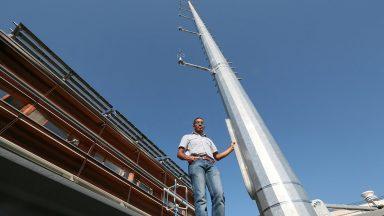 MoTus measuring mast