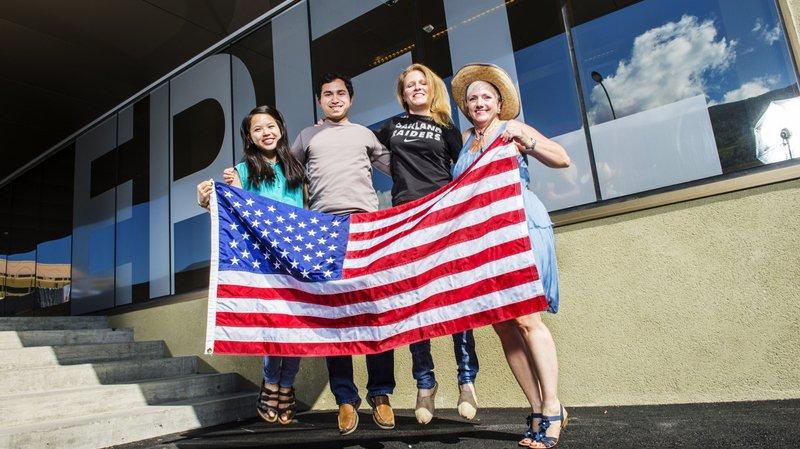 Une touche de Made in USA à l'EPFL