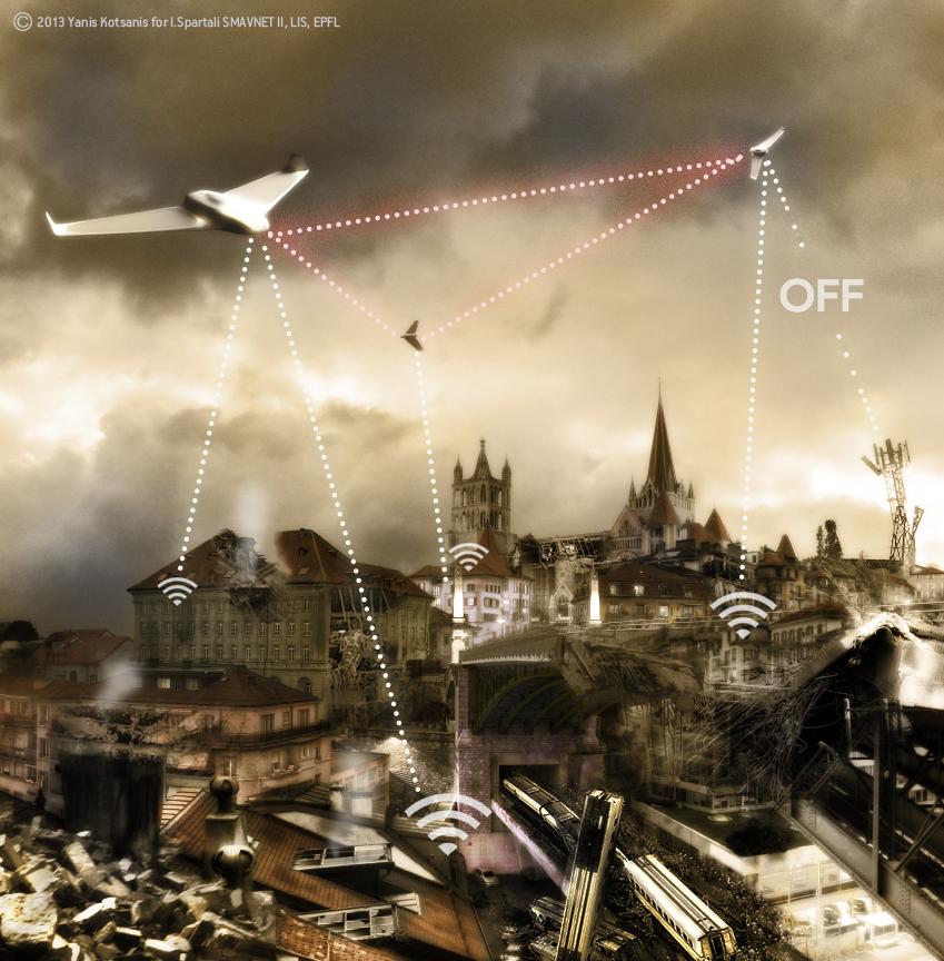 Swarming Mav Networks Ii Lis