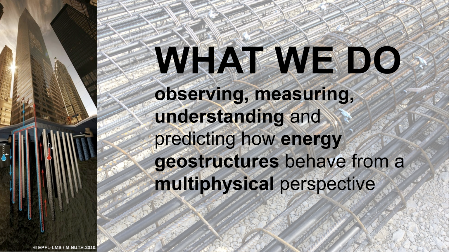 Energy Geostructures – LMS