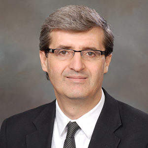 a portrait of Prof. Marcelo Sanchez