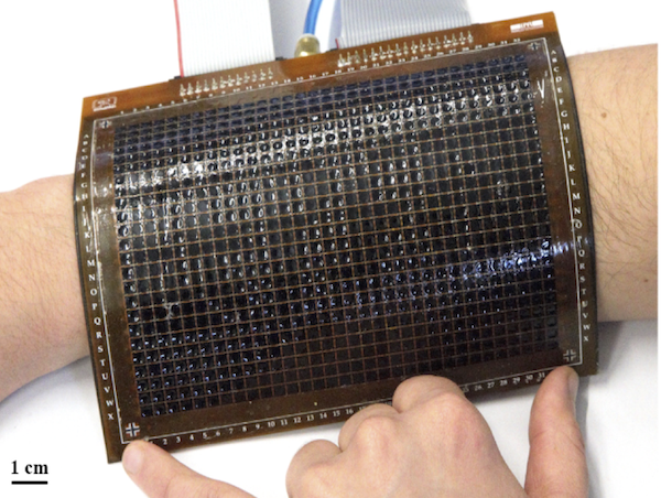 24x32 SMP haptic display at EPFL