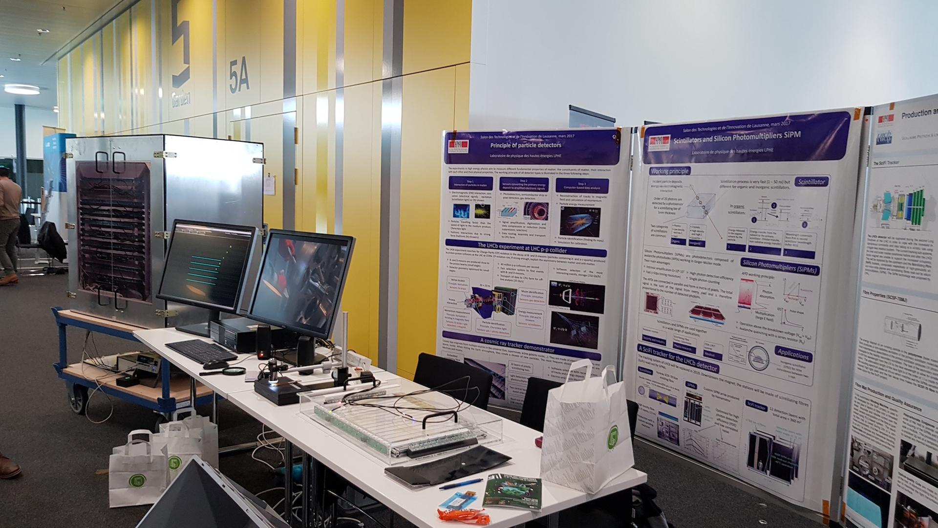 Le LPHE au Salon des Technologies et de l'Innovation de Lausanne (STIL)!