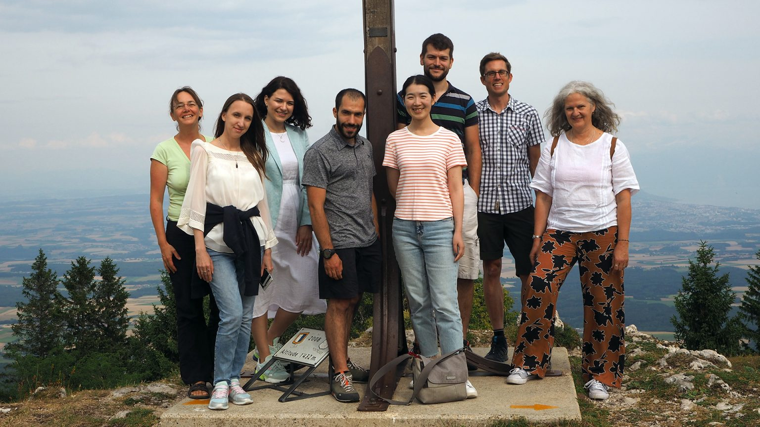 LSME group at the Croix de Châtel summer 2019