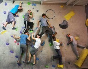 MLO climbing team