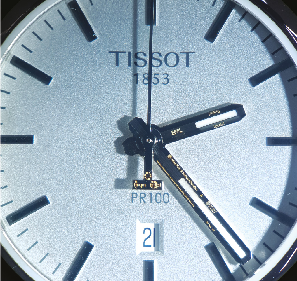 Microstructured Watch