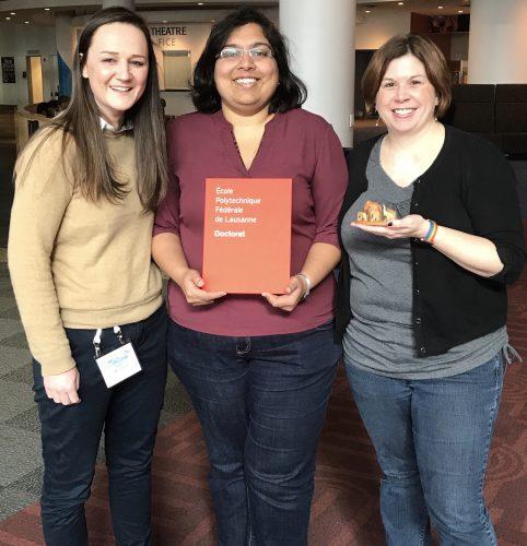 Dr Swathi & her thesis advisors