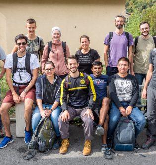 Group hike Vernayaz