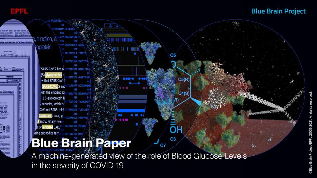A machine reveals how glucose helps the SARS-CoV-2 virus