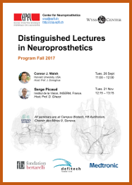 Program Dinstinguished Lectures Neuroprosthetics