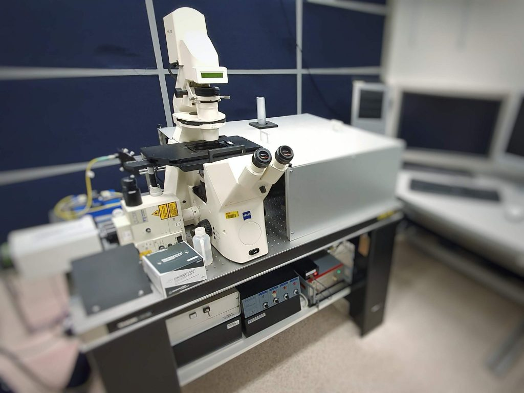Labview CSU Microdissection Microscope