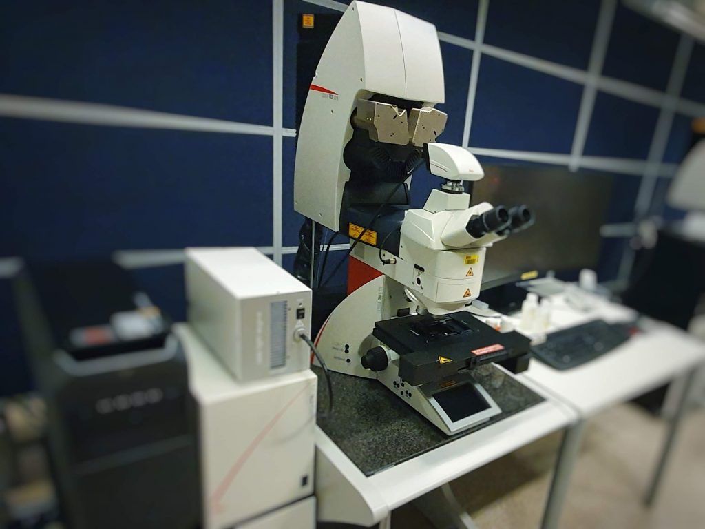 Leica SP8 UP1 Microscope