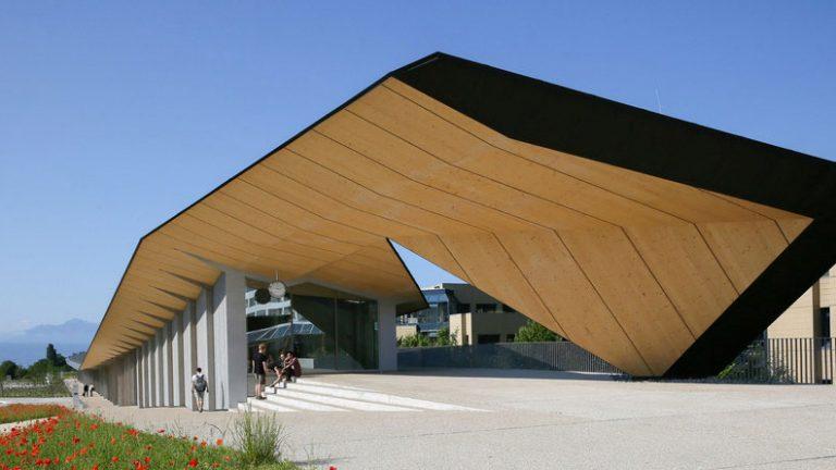 Artlab building at EPFL