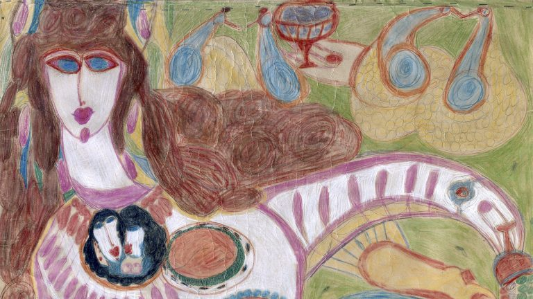 Image issue du cours L'art brut, cycle bachelor, enseignante: Lucienne Peiry