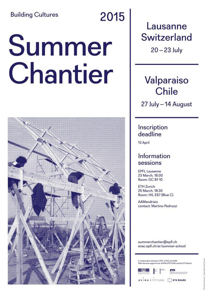 Summer Chantier 2015 Formation Enac Epfl