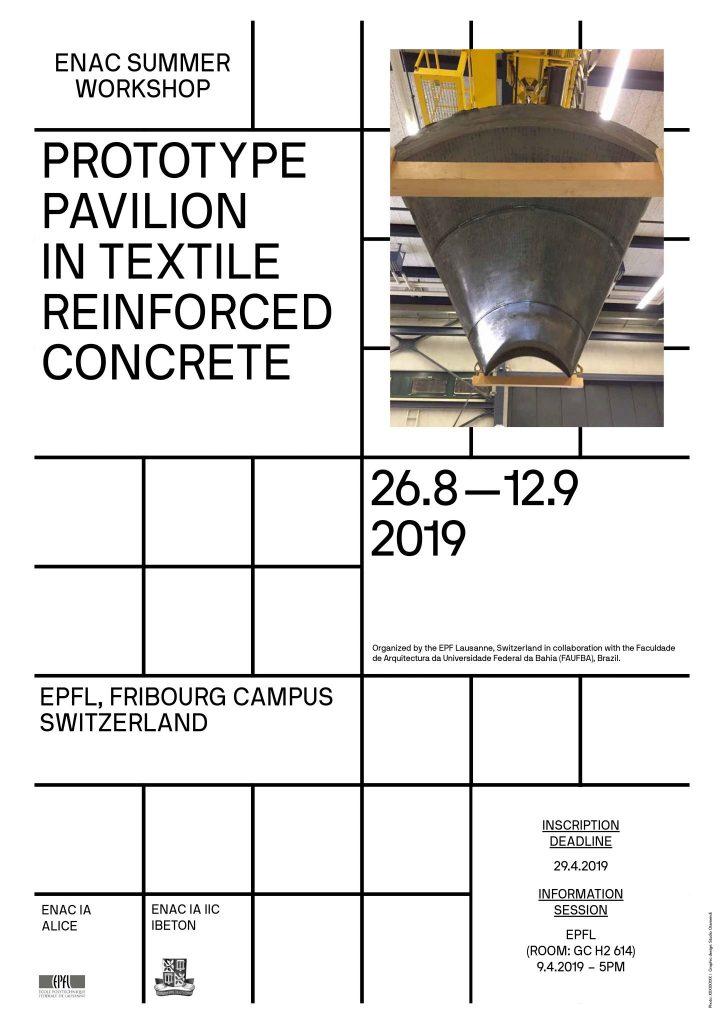 A Prototype Pavillon In Textile Reinforced Concrete Epfl