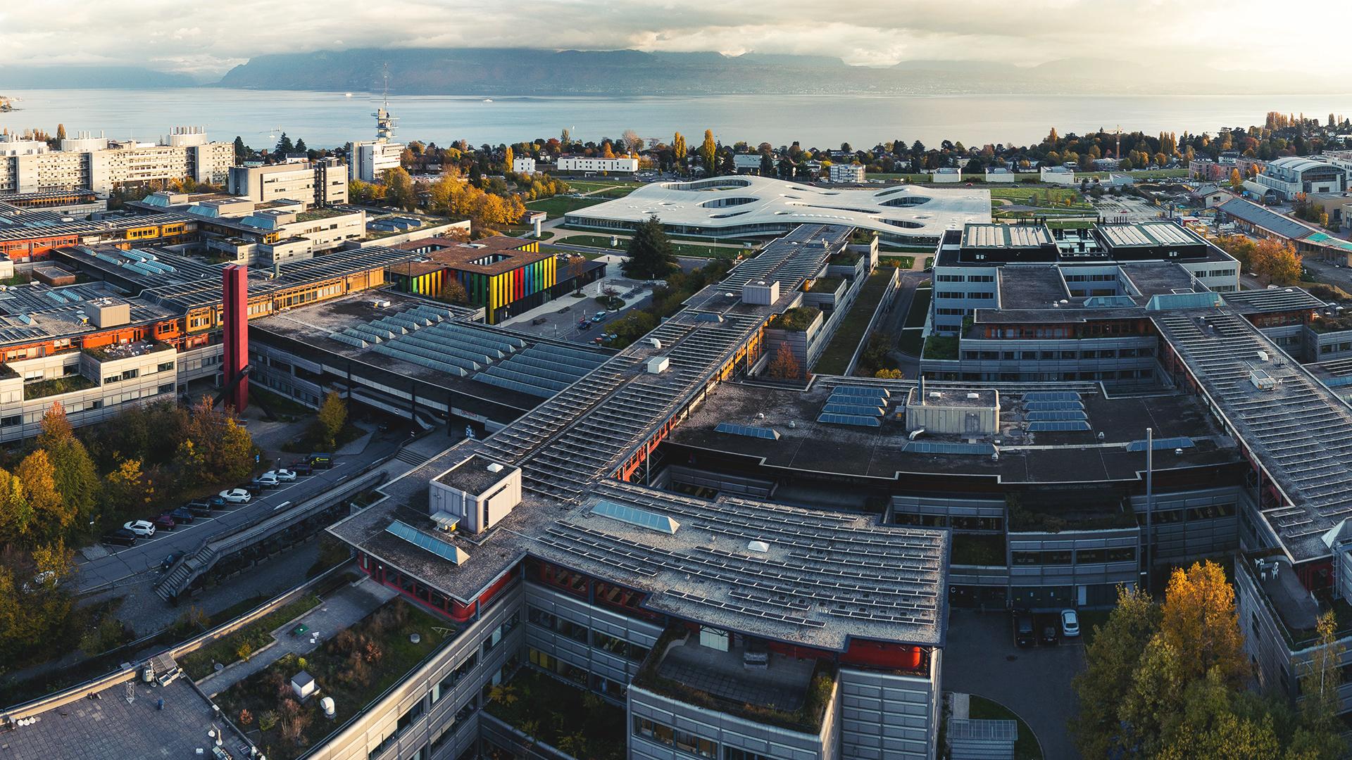 EPFL view © Bob de Graffenried