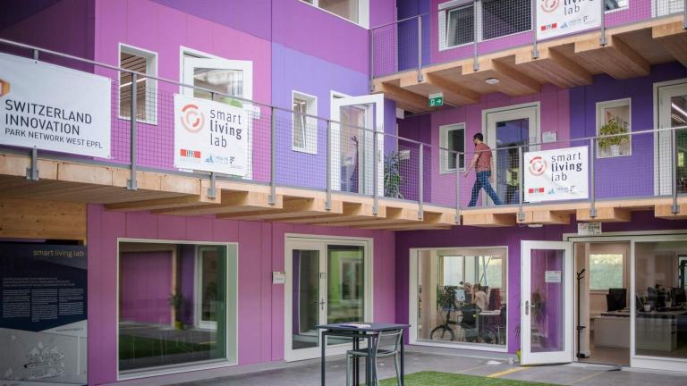 EPFL campus Fribourg