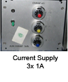 Current supply 3x1A