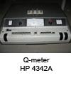 HP Q-meter 4342A