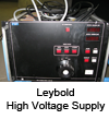 High voltage supply Leybold