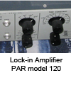 Lock-in amplifier PAR 120