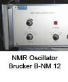 NMR-Oscillator B-NM 12 Bruker