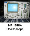 Oscilloscope HP 1740A