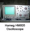 Oscilloscope Hameg HM605