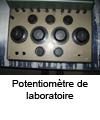 Potentiomètre laboratoire