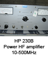 Power HF amplifier HP 10-500MHz