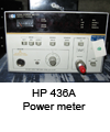 Power meter HP 436A