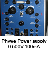 Power supply 0-500V_100mA