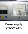 Power supply 0-500V_2,5A