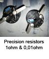 Precision resistor 1ohm - 0,01ohm