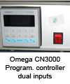 Programmable controller dual inputs Omega CN3000