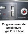 Programmateur de température Type P.B.T Arion