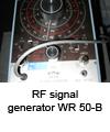 RF Signal generator WR 50-B