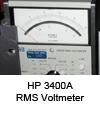 RMS Voltmeter HP 3400A