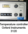 Temperature controller Oxford Instruments 3120